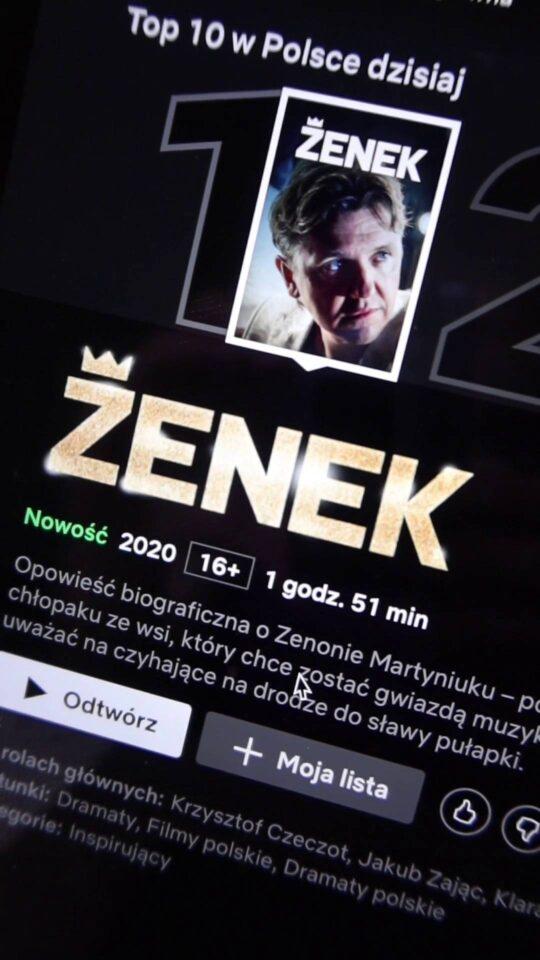 Zenek na Netflix