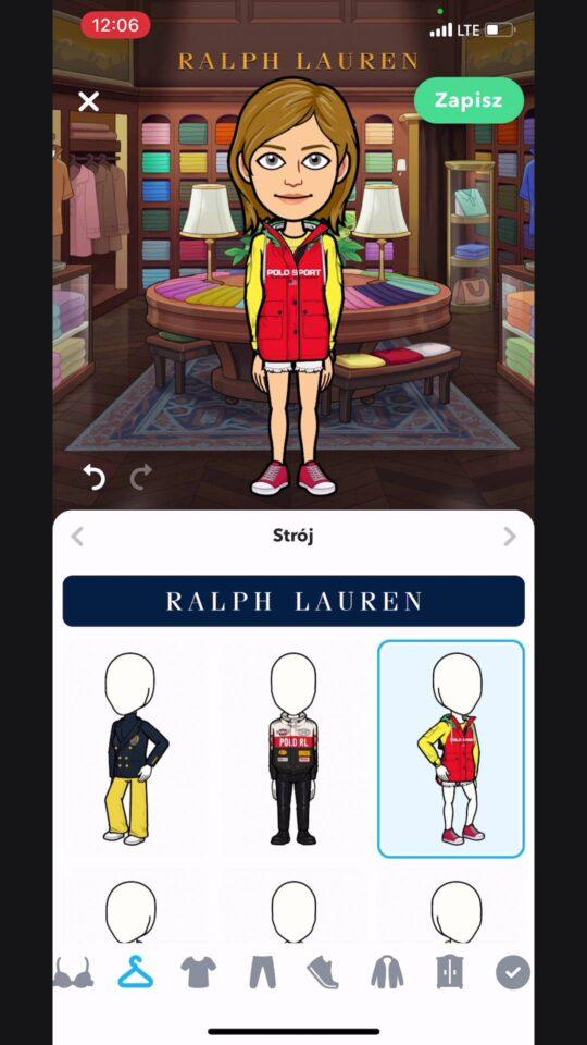 Ralph Lauren snapchat