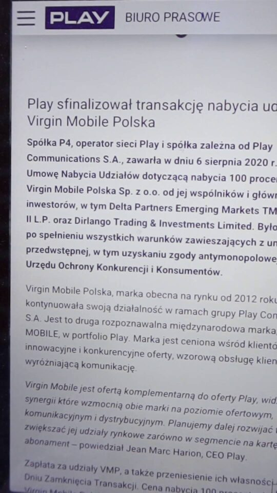play kupiło virgin mobile
