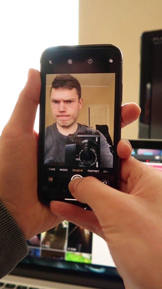 zdjęcia seryjne iphone