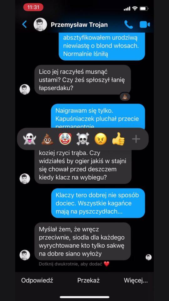 Nowe reakcje na Messengerze