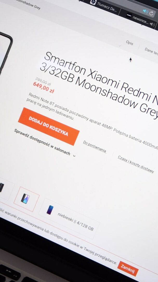 XiaomiRedmi Note 8T cena