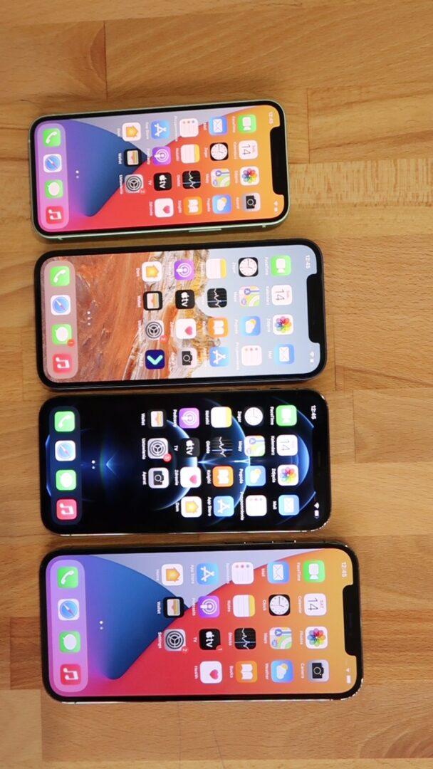 iPhone 12 porównanie rozmiarów