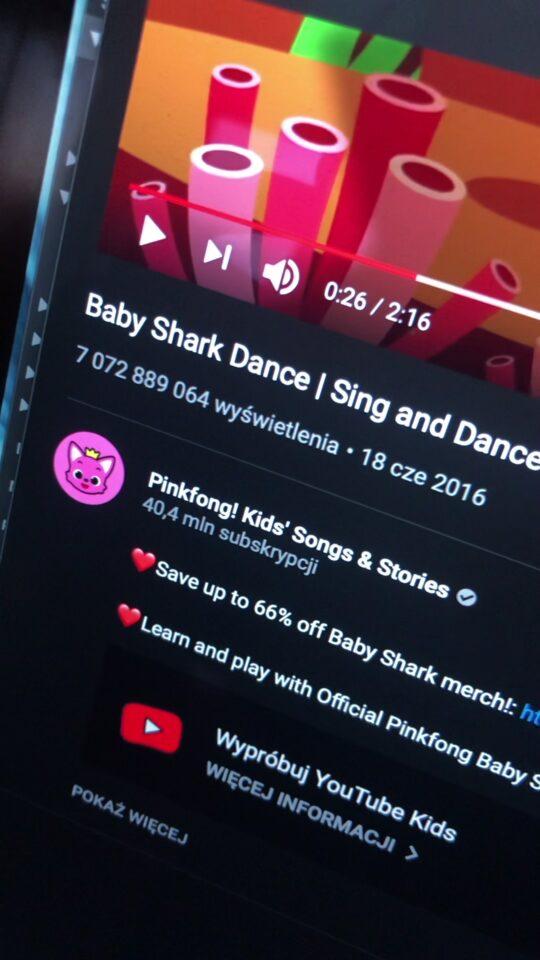 najwięcej wyświetleń youtube