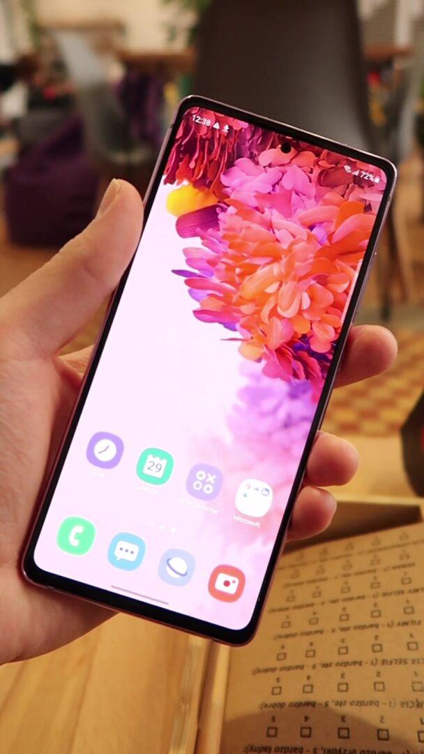 Ekran Samsung Galaxy S20 Fan Edition 5G