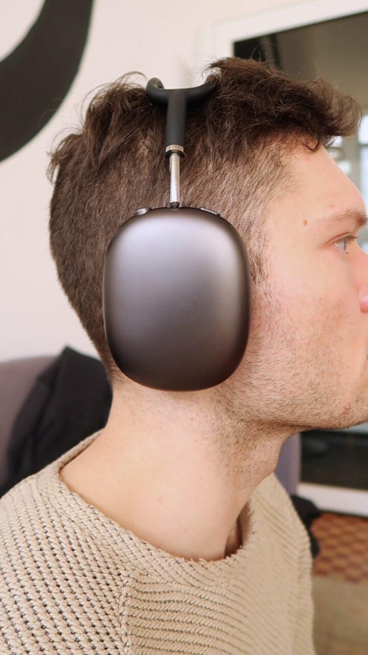 Redukcja hałasu Apple AirPods Max