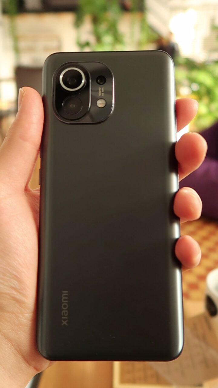 Xiaomi Mi 11 tył