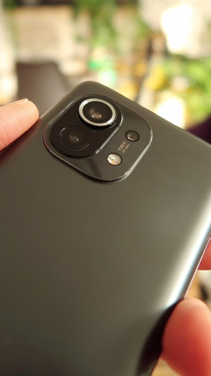 Xiaomi Mi 11 wyspa aparatów
