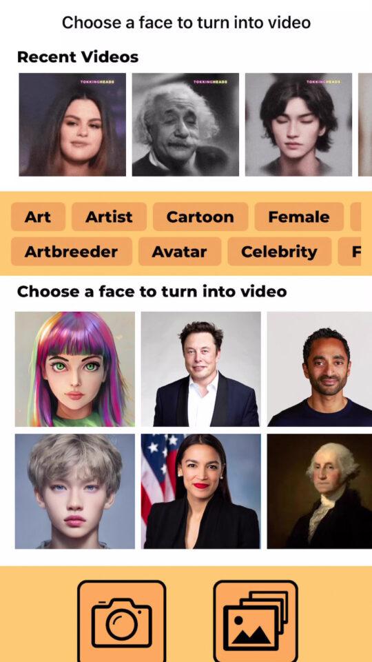 DeepFake twarzy