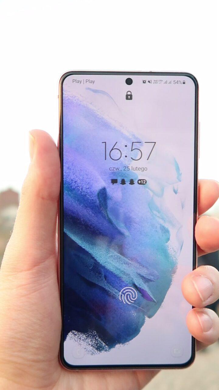Ekran Samsung Galaxy S21