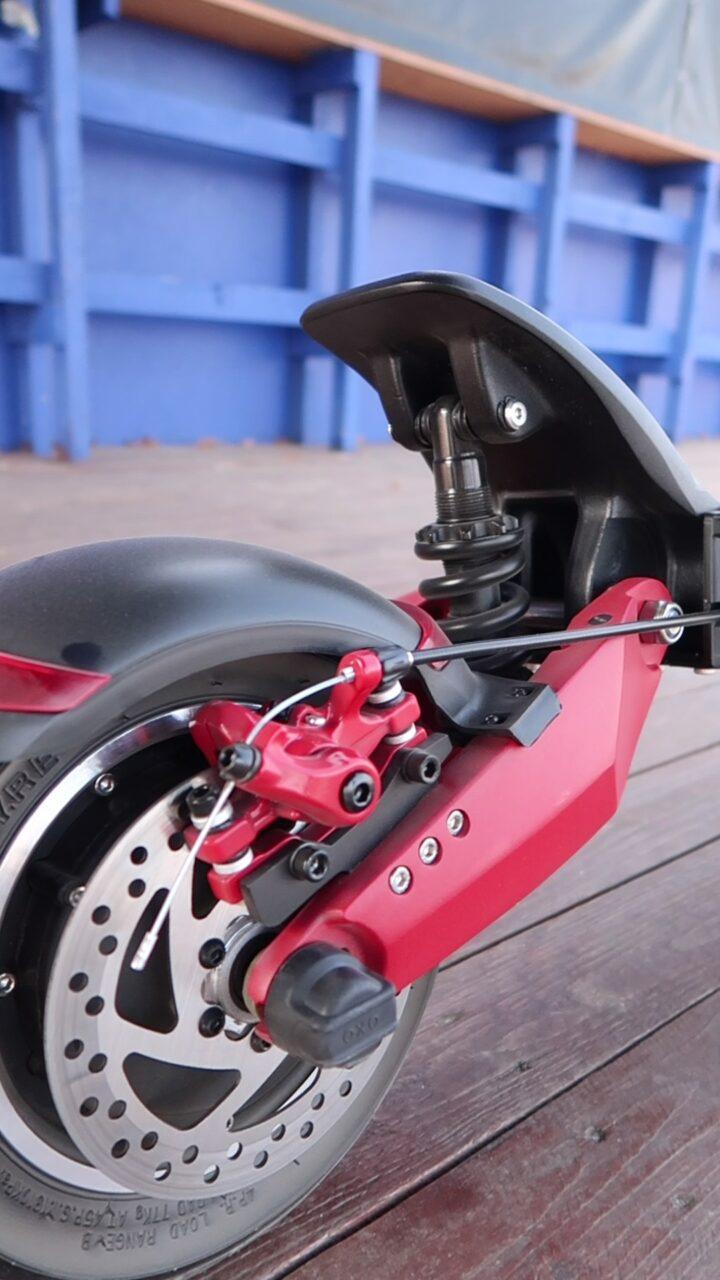 Motus Pro 10 Sport amortyzacja
