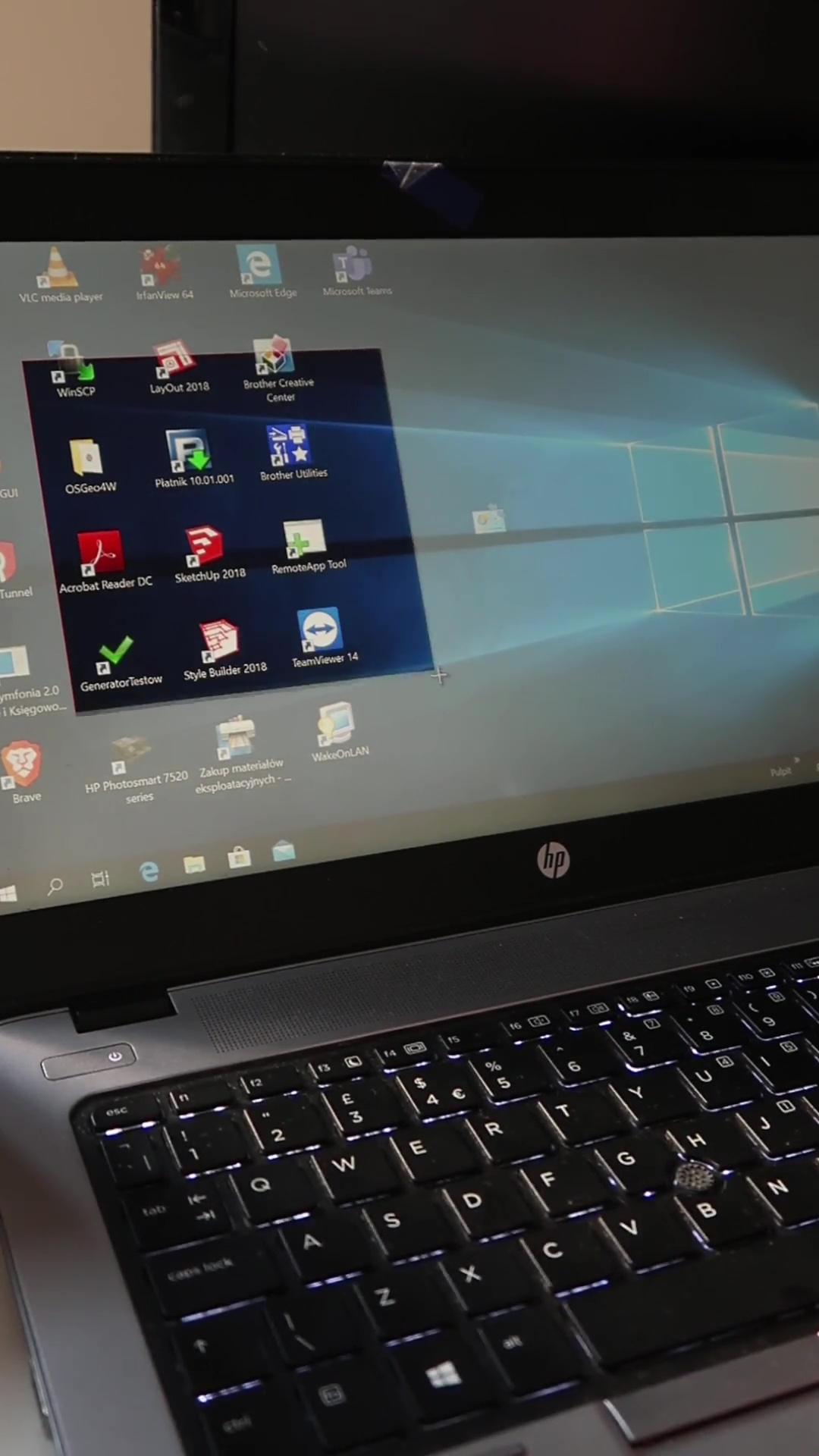 screenshot kawałka ekranu