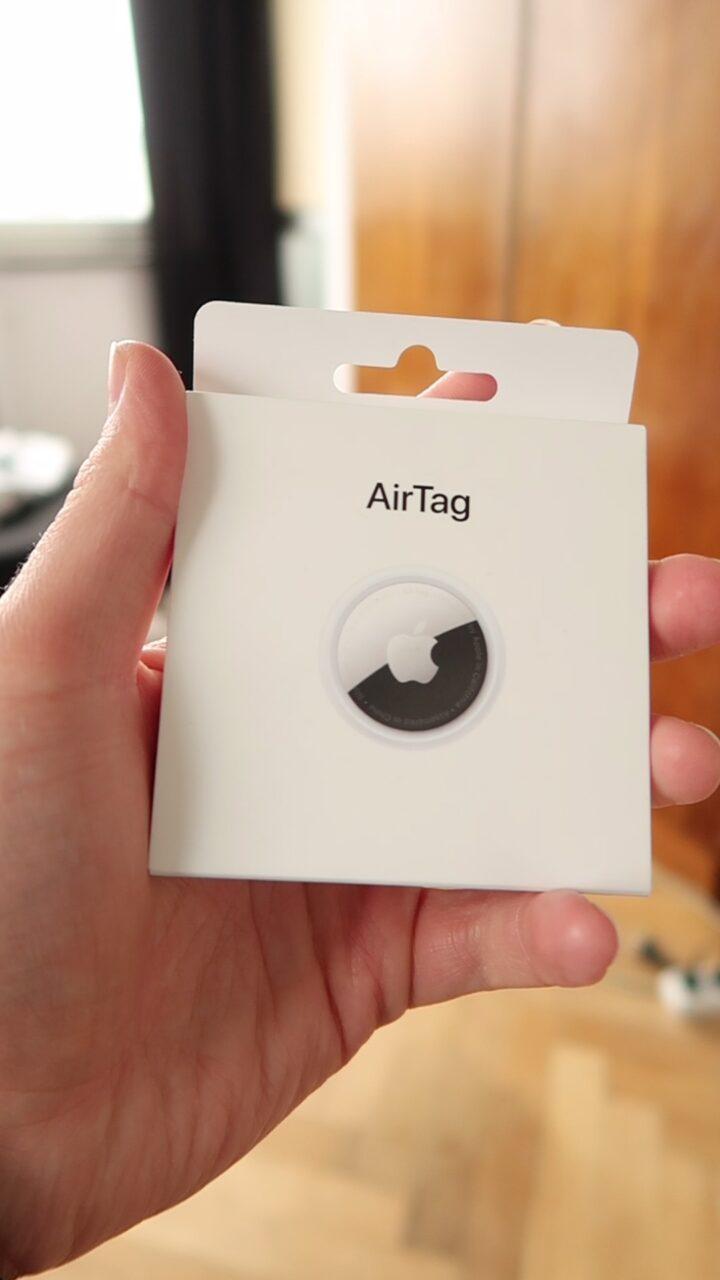 Zawartość opakowania AirTag
