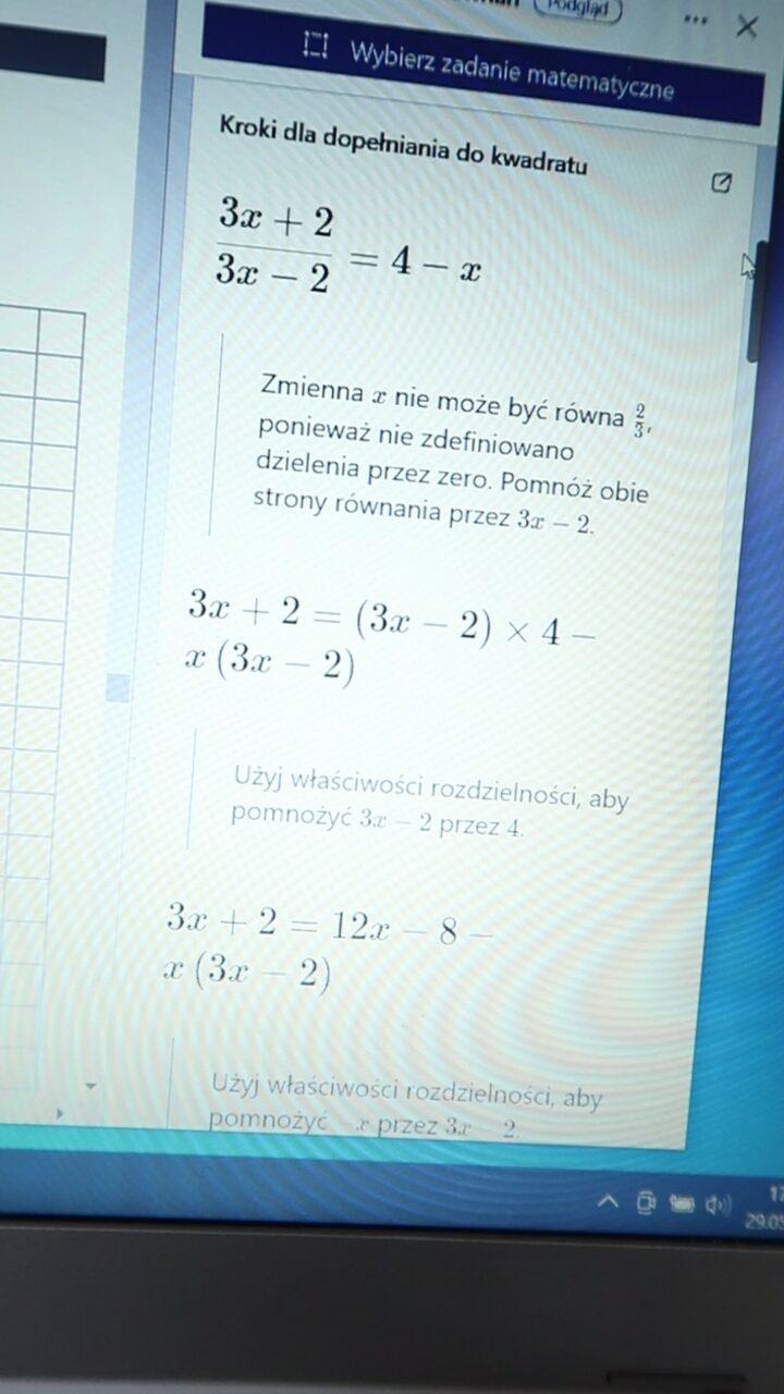 darmowa aplikacja do rozwiązywania równań