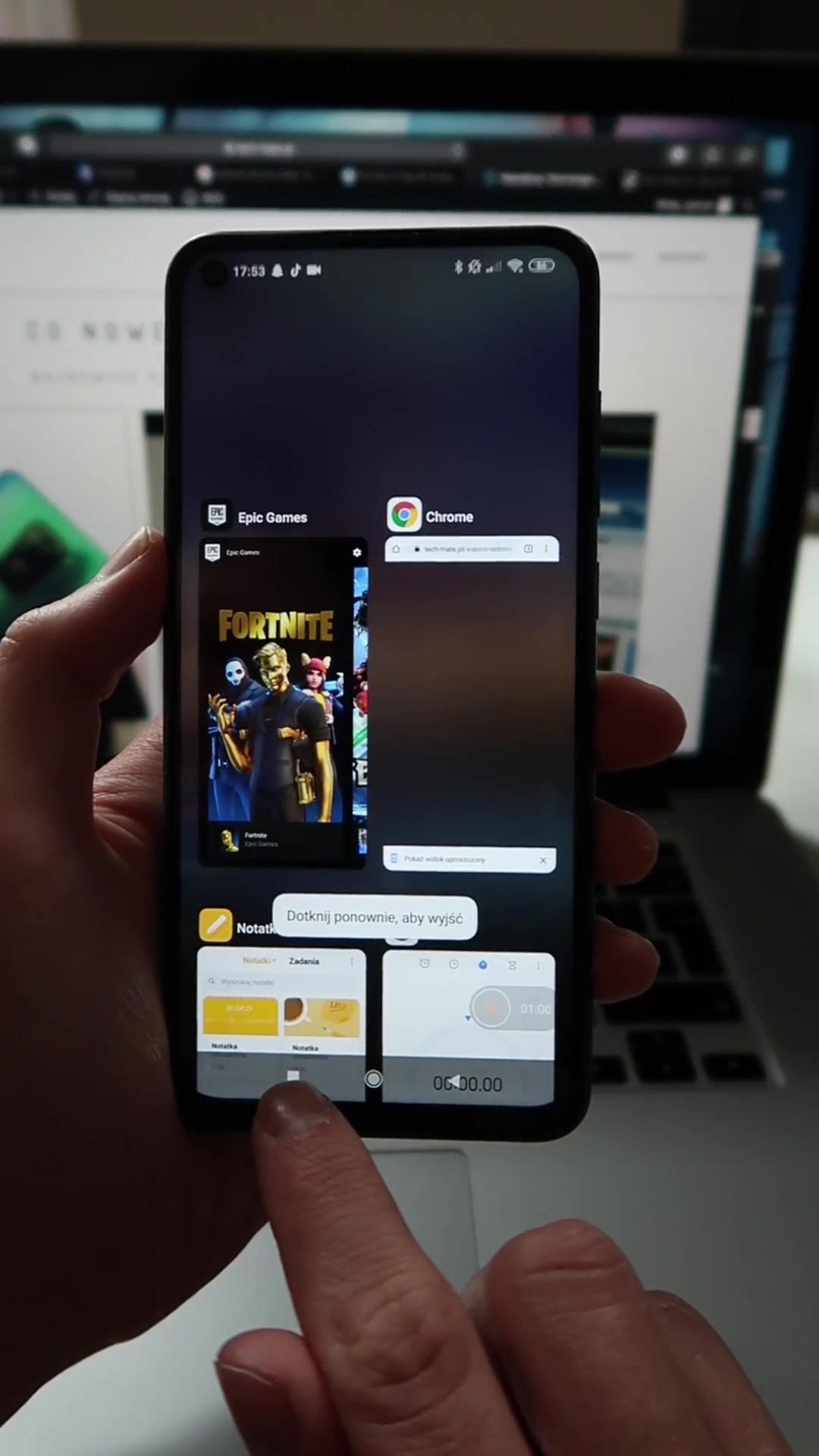 android ostatnie aplikacje