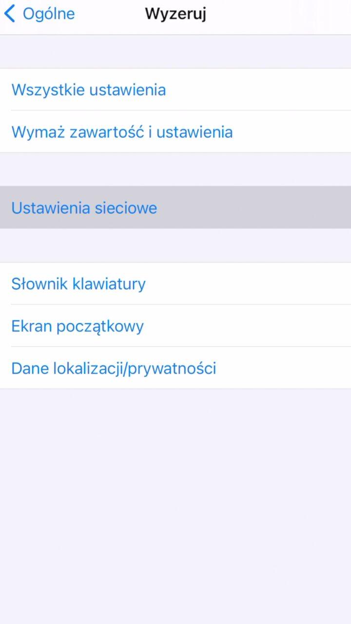 iphone wifi problem jak naprawić