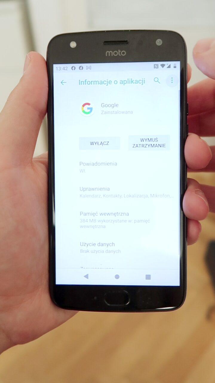jak usunąć aplikacje google