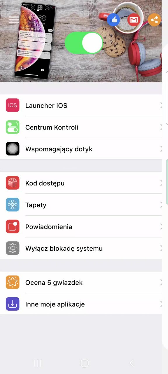 iphone na androidzie