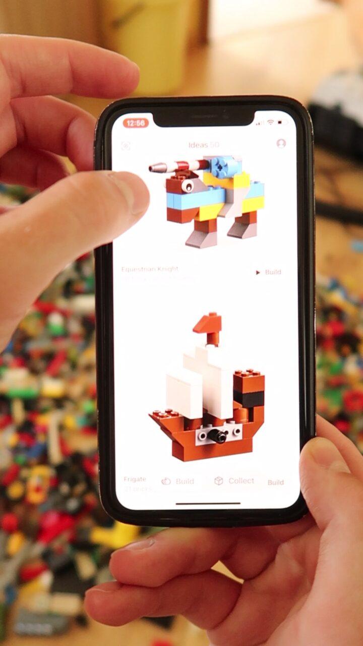 rozpoznawanie lego aplikacja