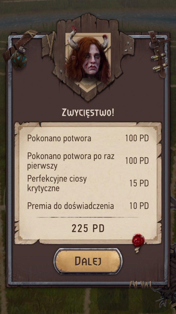 Wiedźmin Pogromca Potworów trofeum