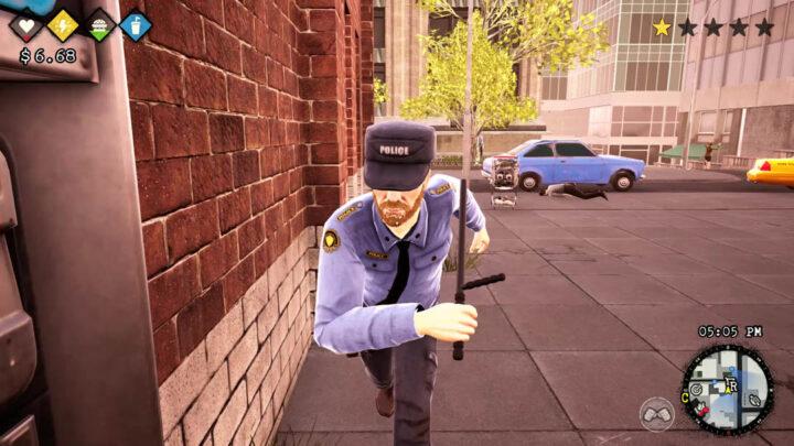 bum simulator policja