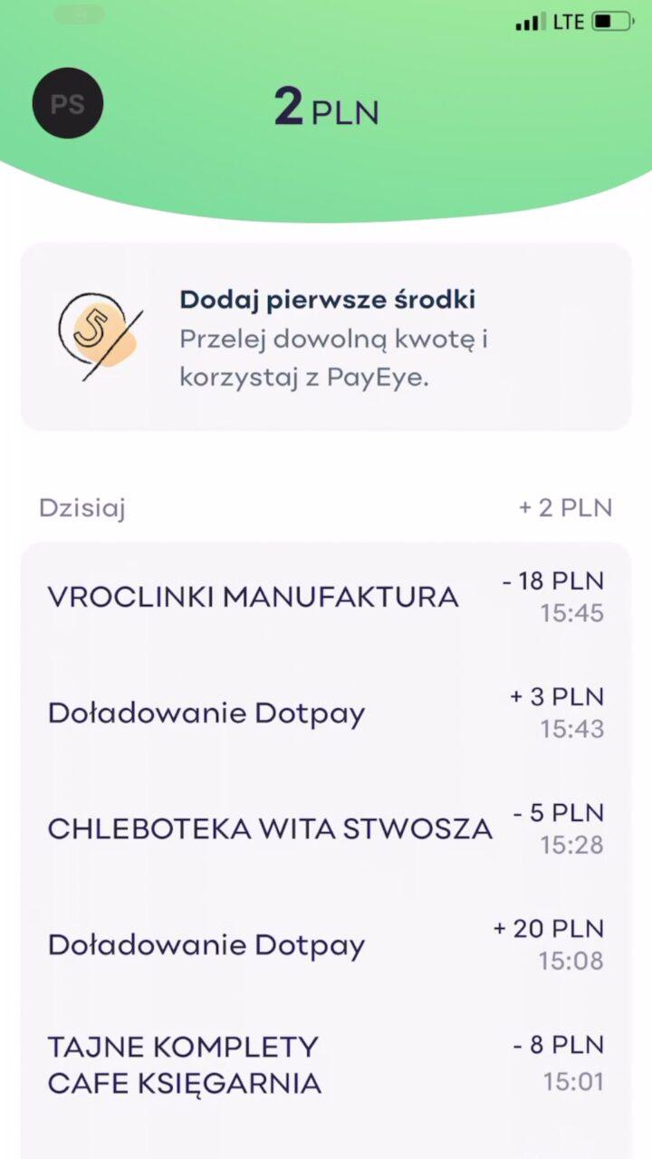 payeye aplikacja