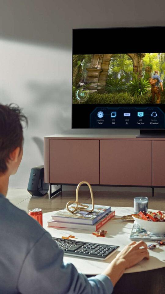 Samsung TV zablokowane