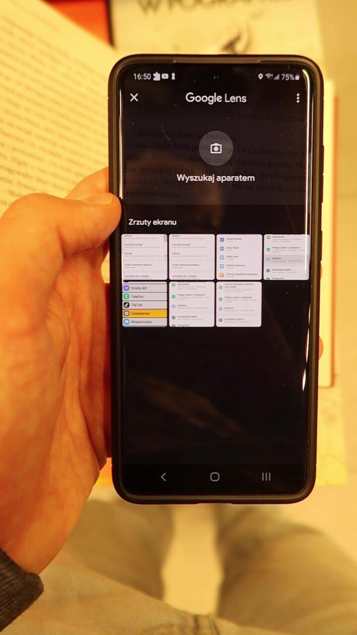 skanowanie tekstu android
