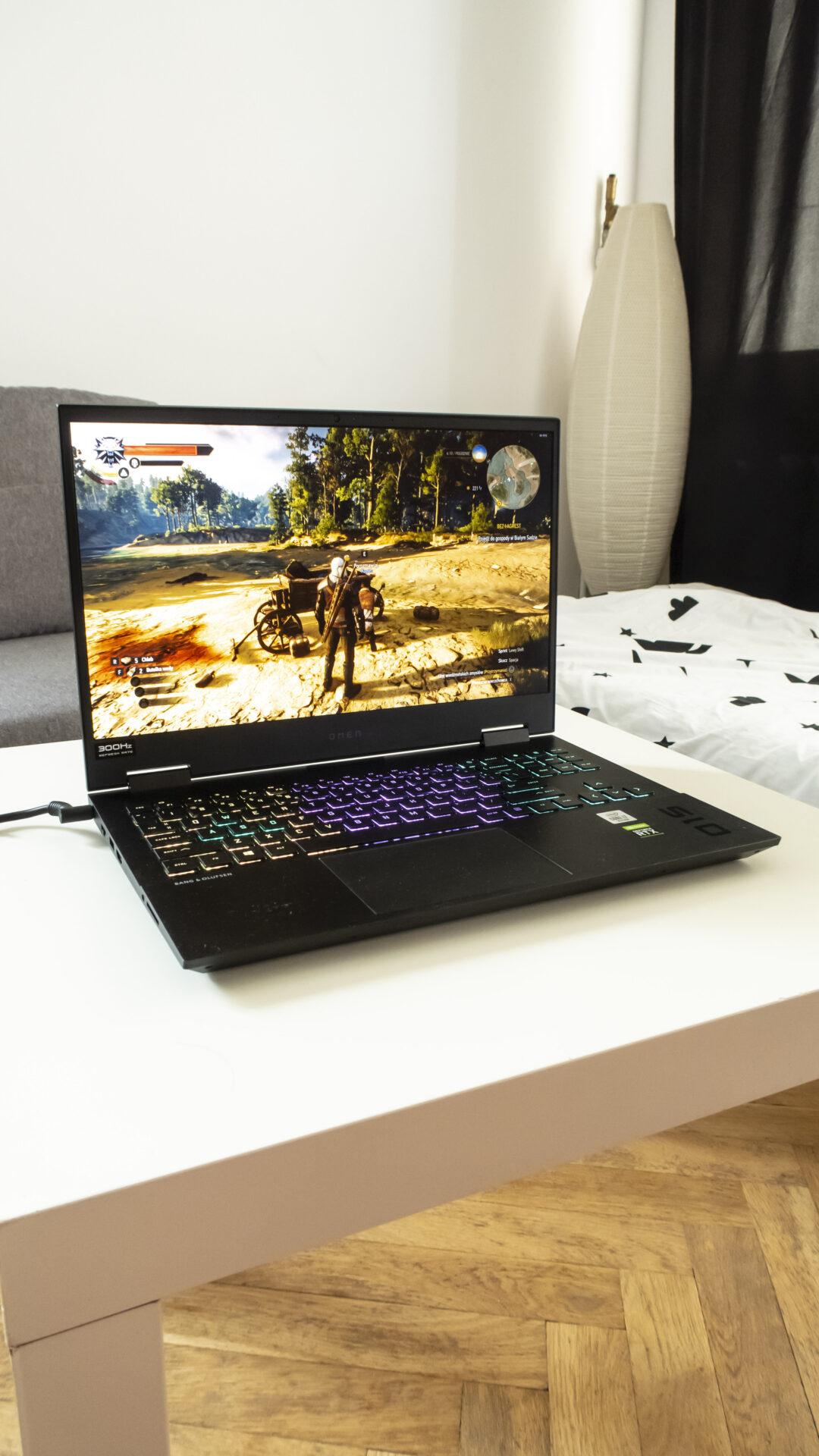 laptop hp omen 15 recenzja