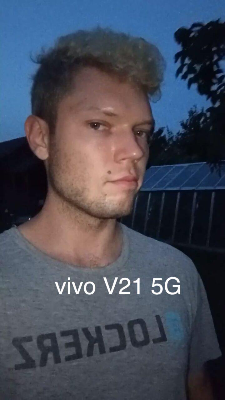 Wideo nocne - vivo V21 5G
