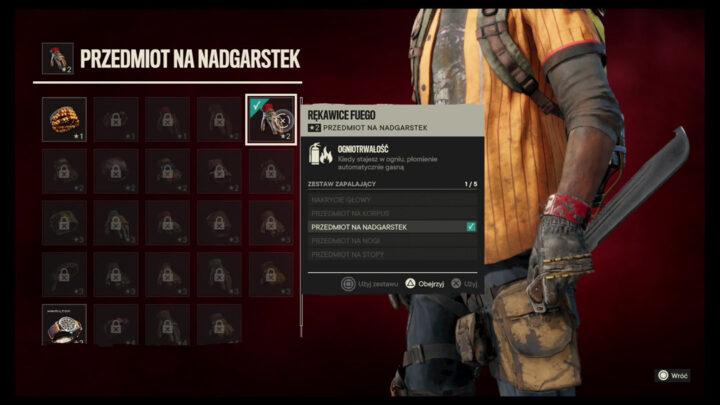 ekwipunek Far Cry 6
