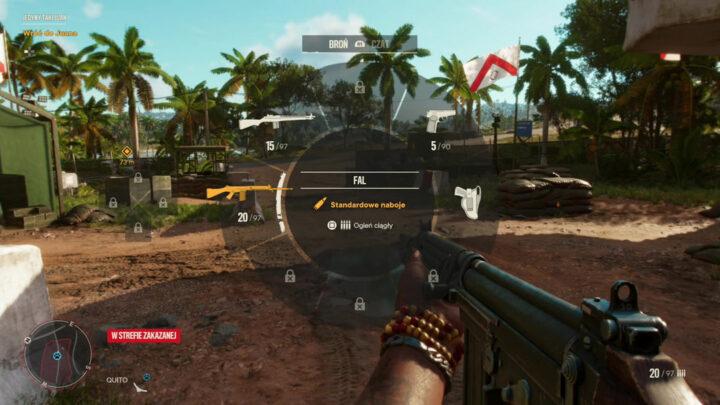 Far Cry 6 strzelanie